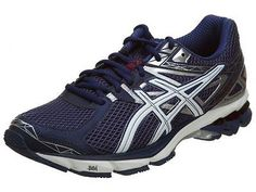 Asics Gt-1000 3 Mens T4K3N-4801 Midnight Blue Running Shoes Sneakers Size 10.5