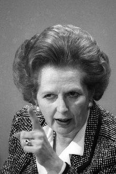 Margaret Thatcher ~ The Iron Lady
