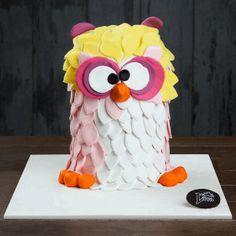 Baykuş özel pasta, butik pasta, doğum günü pastası, liva