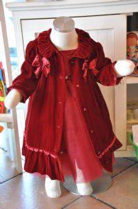 Biscotti Girls Christmas CoatMatches Infant Christmas Dress!