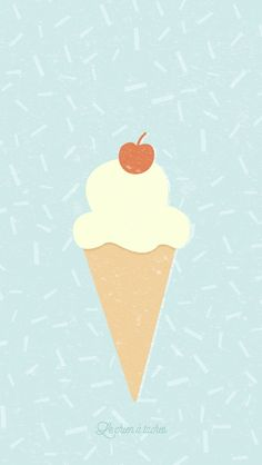 Ice Cream Pastel iPhone Lock Wallpaper @PanPins