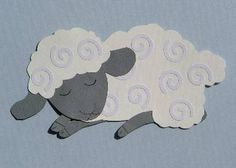 Spring Lamb Paper Piecing Pattern