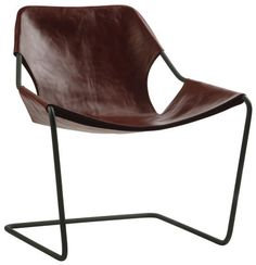 Fauteuil Paulistano version carbone - Objekto  I know you already have this but I just wanted to add it