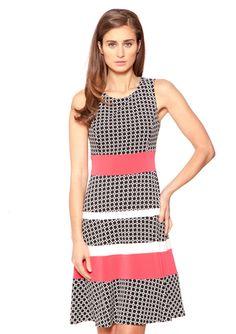 On ideeli: ANNE KLEIN DRESS Jersey Banded Swing Dress