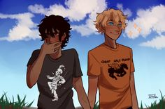 Pt. 4, art by cookiecreation Nico wearing an mcr shirt makes me love him more