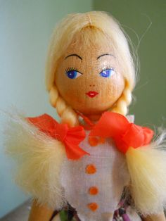 Clothes Pin Doll from Poland