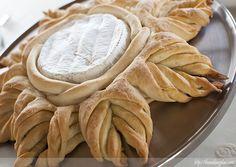 Estrella de pan con queso camembert | The Cooking Plan sin thermomix, receta y fotos paso a paso
