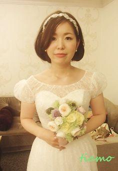 ドレスから和装へガラリとチェンジ!お洒落で可愛い花嫁さまの一日♡ |大人可愛いブライダルヘアメイク『tiamo』の結婚カタログ