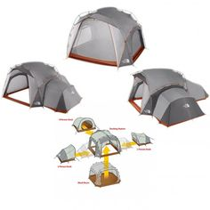 the north face docking station family tent review