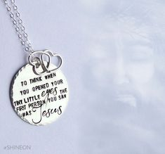 Blessed Angel Mommy Necklace - Mother's Day Gift - Miscarriage - Infant Loss - Faith Jewelry