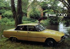 This brochure shows that the with twin-carburator 2200 engine was the simplest model on sale in Holland in Rover P6, Interactive Museum, Cars Uk, Poster Ads, Car Camera, Vintage Cars, Holland, Engine, Classic Cars
