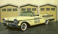 STRANGE OLDE INDY 500 PACE CARS - 1957 MERCURY