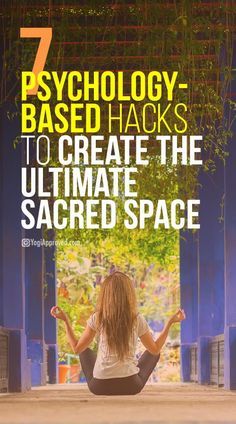 7 Psychology-Based Hacks to Create the Ultimate Sacred Space Meditation Room Decor, Meditation Space, Daily Meditation, Meditation Music, Mindfulness Meditation, Meditation Corner, Mindfulness Exercises, Relaxation Room, Meditation Quotes