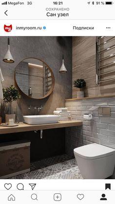 Fascinating bathroom design decor ideas refresh your mind Downstairs Bathroom, Bathroom Renos, Master Bathroom, Beautiful Bathrooms, Modern Bathroom, Small Bathroom, Bad Inspiration, Bathroom Inspiration, Small Toilet