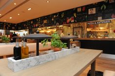 "Vapiano restaurant, Amsterdam. Great food and nice concept, love the ""pick your own herbs from the pot plant""!!"