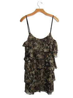 Julie's Closet Layered Ruffle Long Tank Top #stellasaksa #juliescloset #layered #ruffle #tank #tanktop