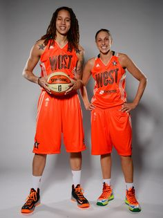 Griner and Diana Taurasi