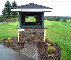 Why Weatherproof Tv Solutions Score Birs For Golf Club Outdoor Entertainment Safety And Signage
