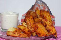 Tapitas y Postres: Patatas de luxe (de dieta)