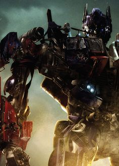 Optimus Prime.... I have a crush on a robot... Hahaha love his movie voice!!!