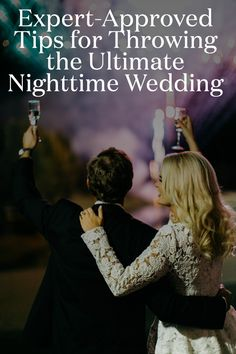 Getting married at night can be incredibly beautiful, but it does require somewhat different planning. Here, expert-approved tips for planning the ultimate nighttime wedding. Indoor Wedding Ceremonies, Unique Wedding Venues, Wedding Trends, Wedding Ceremony, Wedding Decor, Reception, Wedding Ideas, Night Time Wedding, Summer Wedding