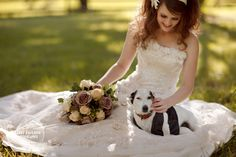 Include your dog in your wedding pictures  beckman10