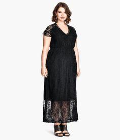 H&M+ Long Lace Dress   H&M US