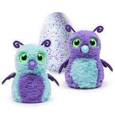 Hatchimals Hatching Egg Interactive Creature Burtle Purple/Teal Egg