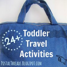 24  Toddler Travel Activities