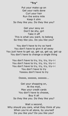 Try -Colbie Caillat