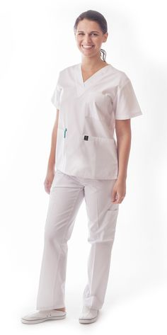 Our number one best-selling 7 pocket classic white basic scrubs is the definition of classic but superior! Made to last longer than all other products out there and with so many colors to choose from, you'll never have to go a day without this top again! Looking and feeling your best will keep you working your best! Read more at https://www.dressamed.com/root/product/103-white/#uyKAAx2Eeb622llE.99