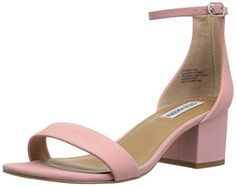 Steve  Madden  womens  ireneew  dress  sandal  light  pink