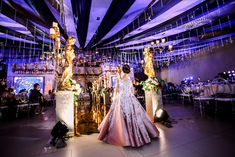 Kaycee's Gorgeous Venetian Opera Themed Party – Aisle details Party Themes, Party Ideas, Theatre Stage, Blooming Rose, Pastel Shades, Stunning Dresses, Event Styling, 7th Birthday, Looking Stunning
