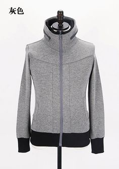 Men New Style Autumn Sport Casual Pattern Long Sleeve Grey Cotton Hoodie M/L/XL@Q10g