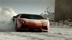 Lamborghini Aventador by Sehsucht™. Our latest car porn introduces Lamborghini's new super sports car Aventador with its 700 HP bull power - powerful and classy just like his namesake, Spanish bull legend Aventador - relentlessly fighting the forces of nature in a 3-minute special effect thunderstorm, shot in the Californian desert Coyote Dry Lakebed and directed by Ole Peters.