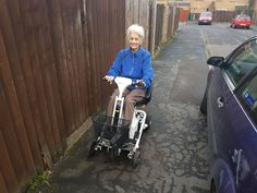 Mrs Bill was all smiles on the Quingo Air 2 mobility scooter which one will be perfect for you? Get your home test drive here http://contact.quingoscooters.com/social-mobility-scooters/
