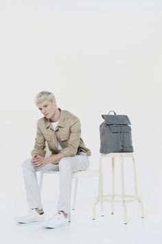 'Boy Bag' is a bucket backpack which is the simple. The vintage boy bag is an inspiration of design that mixed the vintage and modern style together. It could make you have more self-confident in every occasion.