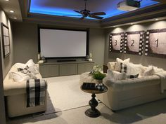 My Texas House - Design Home Theater Room Design, Home Theater Decor, Home Theater Rooms, Cinema Room Small, Home Cinema Room, Small Media Rooms, Small Rooms, Media Room Design, Media Room Decor
