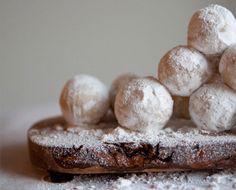 Sneeuwballen van amaretto...