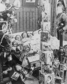 Twas The Night Before Christmas 1898 8x10 Reprint Of Old Photo