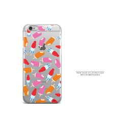 'Creamsicles & Rocket Pops'(@milkywaycases x @okitssteph) - Clear TPU Case Cover