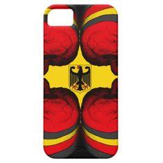 Skull World German Flag iPhone SE/5/5s Case - Halloween happyhalloween festival party holiday