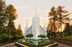 RB04205 _Portland-Oregon-Temple--Sunset