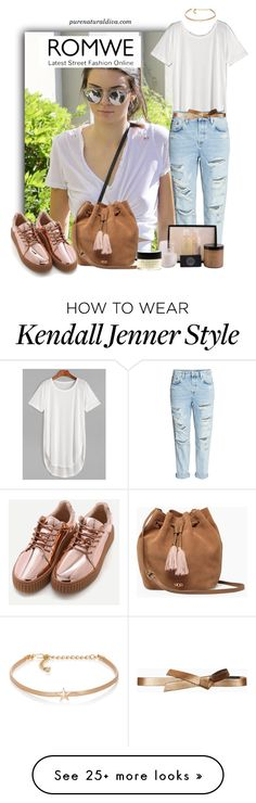 """White T-shirt"" by purenaturaldiva on Polyvore featuring Kenneth Jay Lane, UGG, BCBGMAXAZRIA, naturalbeauty, organicbeauty and purenaturaldiva"