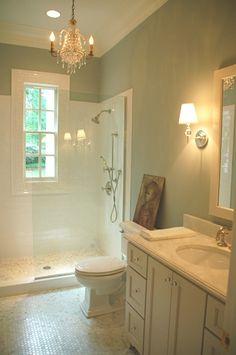 Shower - glass wall