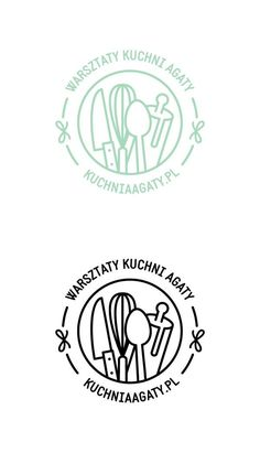 Warsztaty Kuchni Agaty logo on Behance Mais Food Graphic Design, Food Logo Design, Logo Design Trends, Logo Food, Logo Design Inspiration, Menu Design, Design Design, Logo Branding, Branding Design