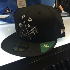 fe3f18c1125 Black Team Australia 59Fifty only available at Culture Kings - sweet  looking cap!  newera