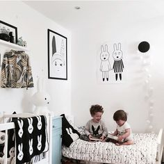 Such a cute shared room for two brothers