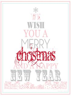 Merry Christmas Printables | Merry Christmas to all and a Happy New Weekend!
