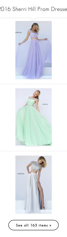 """2016 Sherri Hill Prom Dresses"" by stylishpromgown ❤ liked on Polyvore featuring dresses, 2 piece dress, prom dresses, sherri hill, cocktail prom dress, sherri hill dresses, green dress, short cap sleeve dress, light green dress and cap sleeve dress"